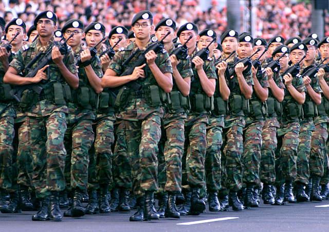 Сухопутные войска Сингапура