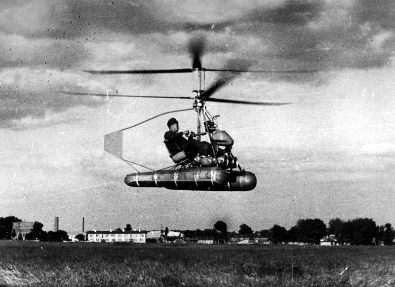 Ка-8 и Ка-10 - «воздушные мотоциклы» Николая Камова