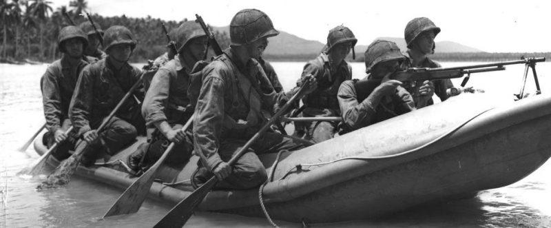 Рейд на Макин - первая операция США