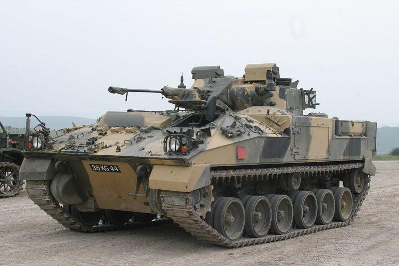 Боевая машина пехоты MCV-80 «Уорриор»