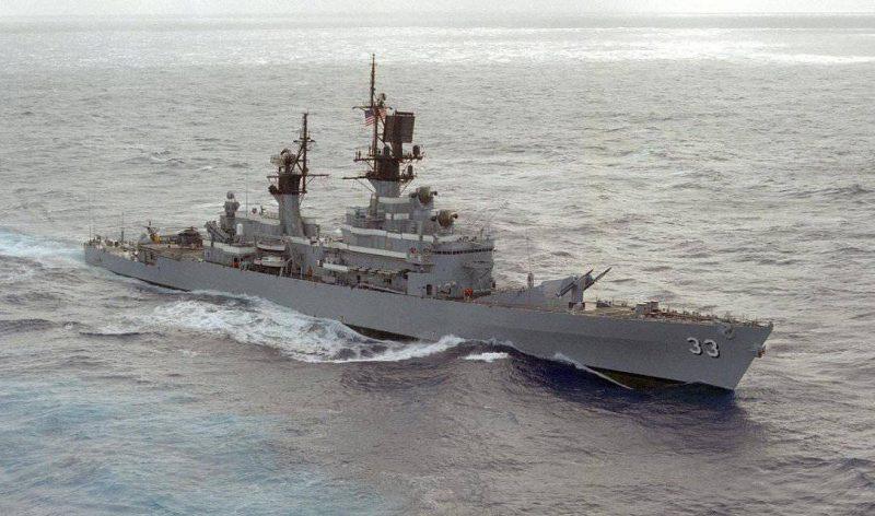 Крейсера УРО типа «Белкнап» - полезные во многих случаях