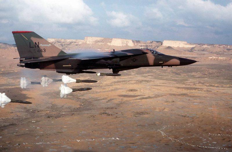 Истребитель-бомбардировщик «Дженерал Дайнэмикс» F-111