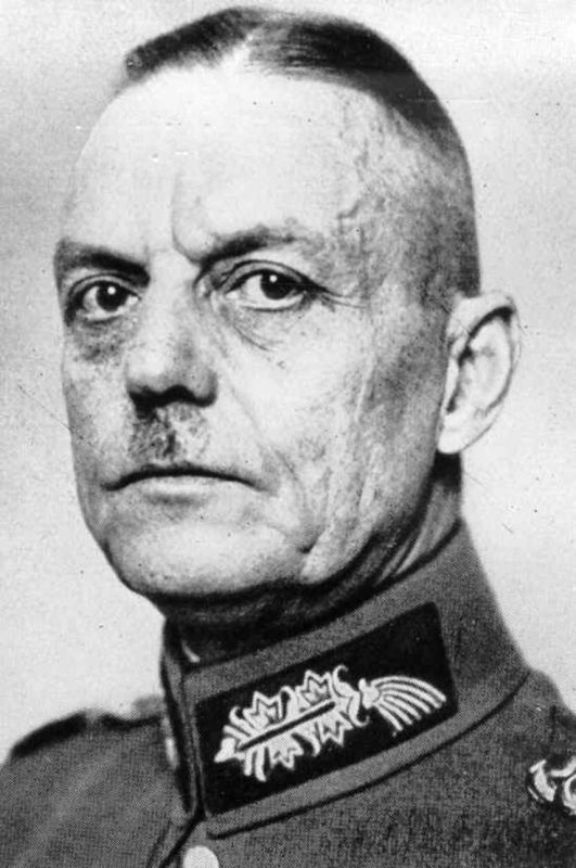 Герд фон Рундштедт - «типичный» прусский генерал