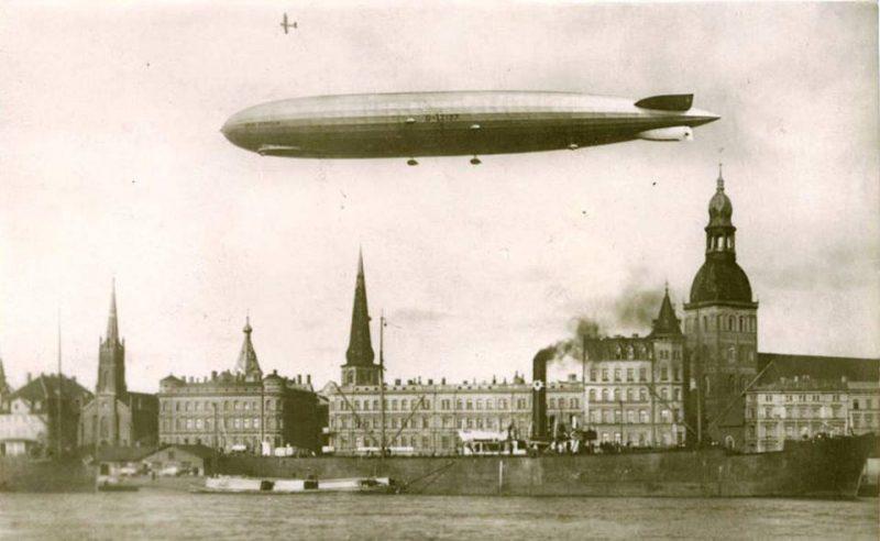 Бомбардировки Британских островов - «Цеппелины» в воздухе