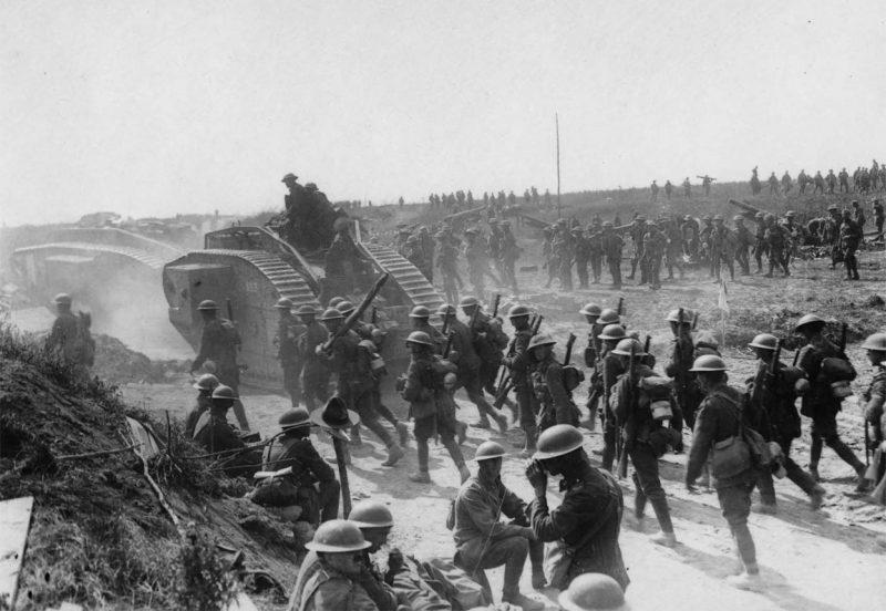 Итальянский фронт: бои в Трентино и на Изонцо