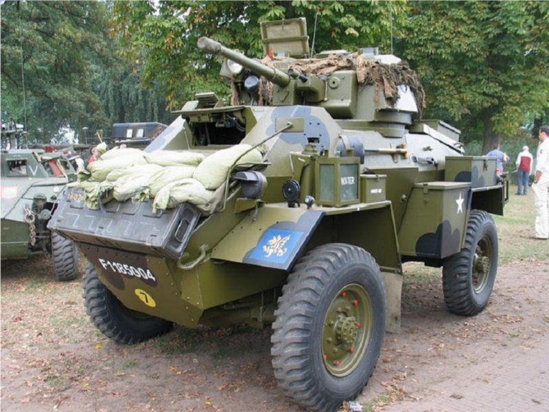 Бронеавтомобиль «Хамбер» - самый массовый броневик