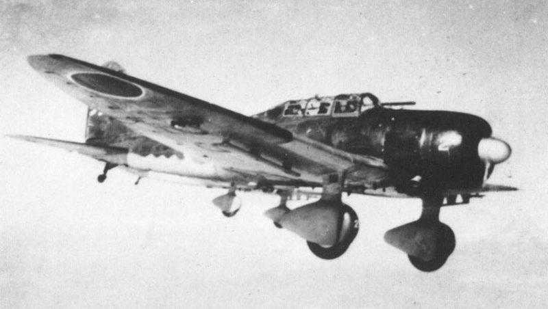 Пикирующий бомбардировщик «Аичи» D3A «Вэл»