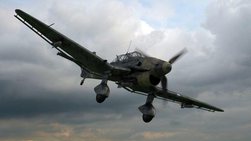 Пикирующий бомбардировщик «Юнкерс» Ju 87 - знаменитая «штука»