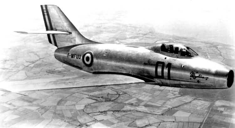 Истребитель-бомбардировщик MD-452 «Мистэр» - реактивная «загадка» Марселя Дассо