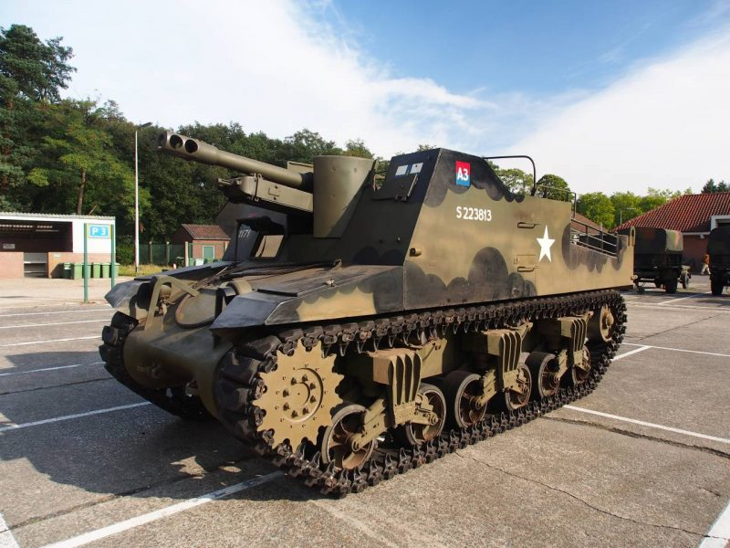 САУ «Секстон» - боевой «пономарь»
