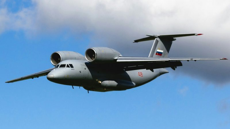 Транспортный самолет Ан-72/Ан-74 - Антоновская «чебурашка»