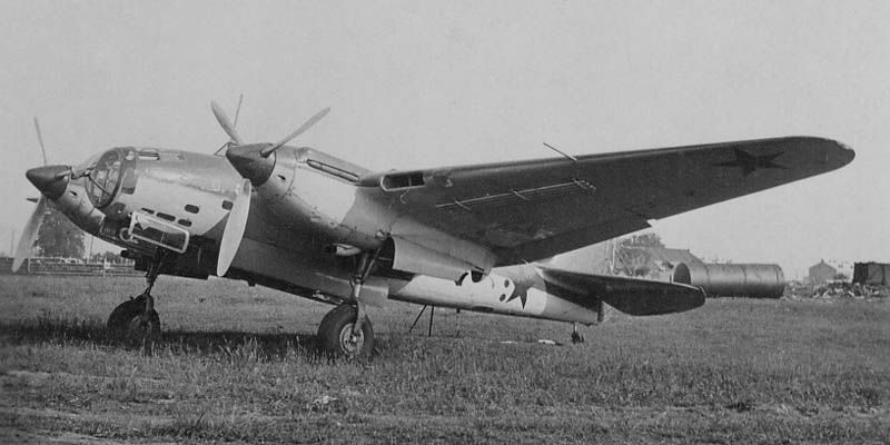 Бомбардировщик Ар-2 - глубокая модернизация СБ