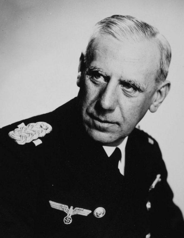 Вильгельм Канарис - адмирал и разведчик Третьего рейха