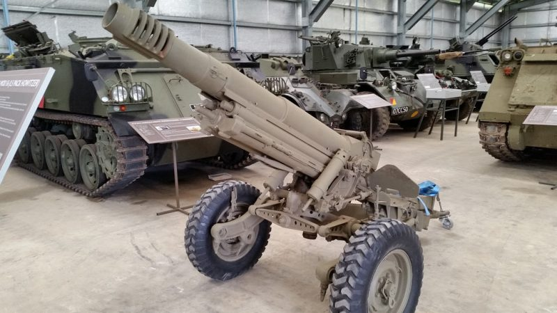 105-мм гаубица Mod 56 - горная и аэромобильная