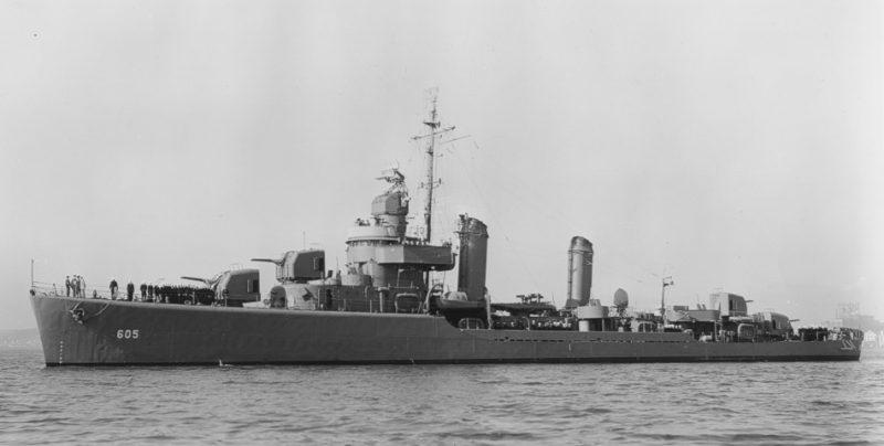 «Колдуэлл», «Уикс», «Клемсоны» - самые массовые эсминцы