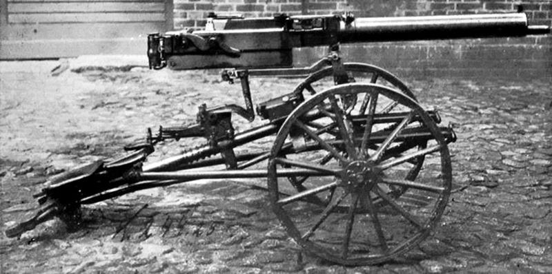 13,3-мм пулеметы MG.18 (TuF) - первые крупнокалиберные