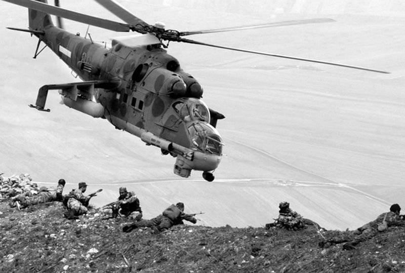 Тактика вертолетов - огневая поддержка