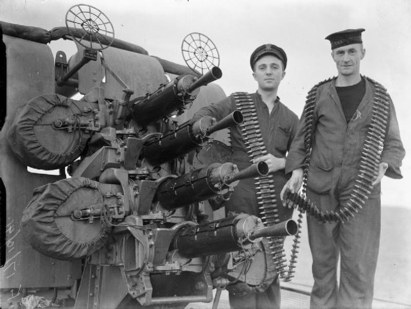12,7-мм пулемет «Виккерс» - корабельный, зенитный, танковый