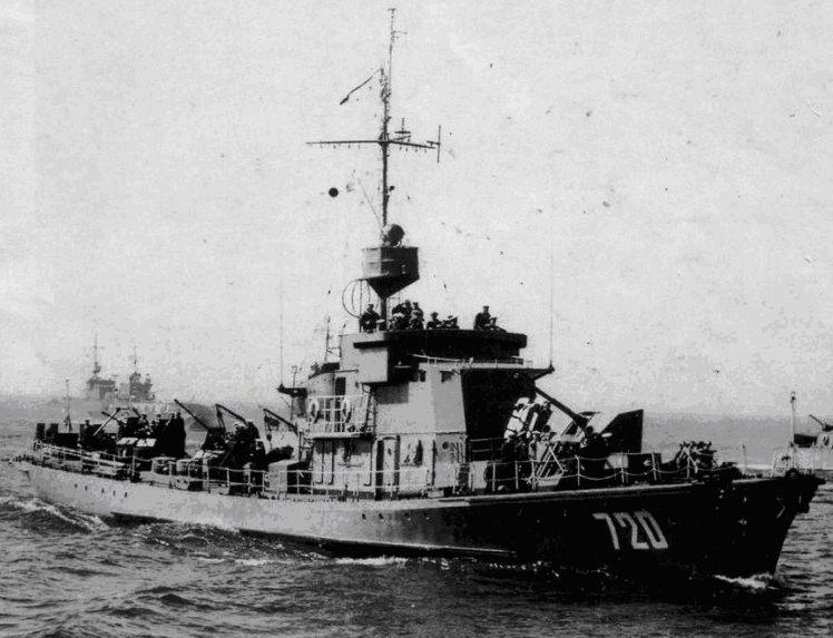 Малые противолодочные корабли проекта 122бис - «большие охотники»
