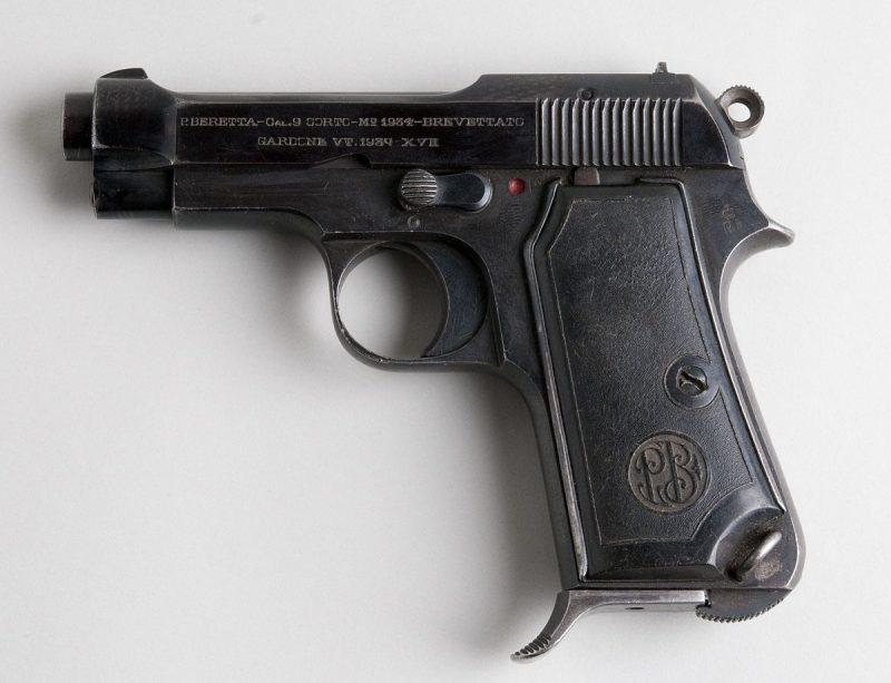 «Беретта» Modello 1934 - самозарядный пистолет