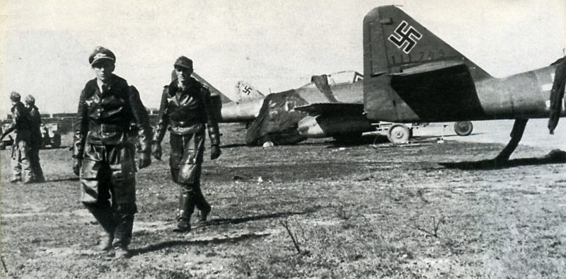 Jagdverband 44 - самая элитная часть люфтваффе