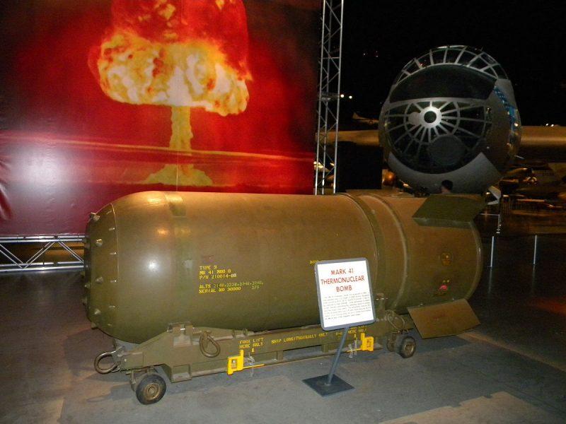 Ядерные вооружения тяжелых бомбардировщиков США