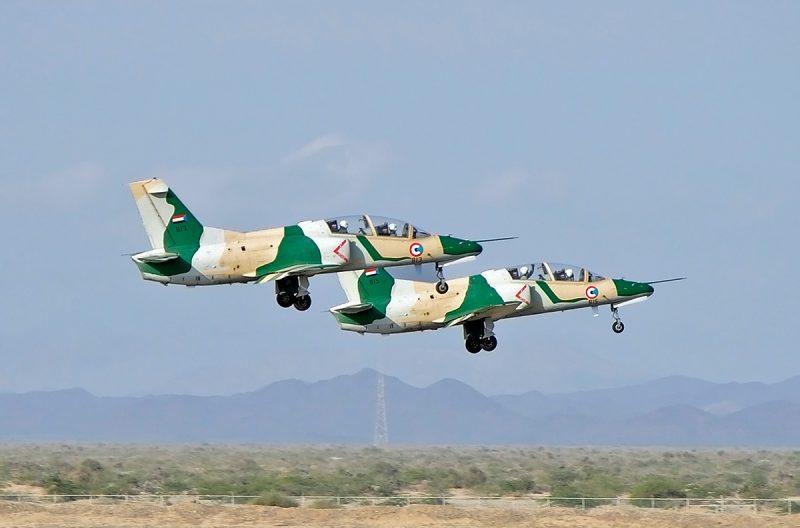 Самолет К-8 (JL-8) - учебно-боевой «Каракорум»