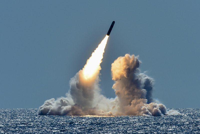 Стратегические наступательные вооружения США морского базирования