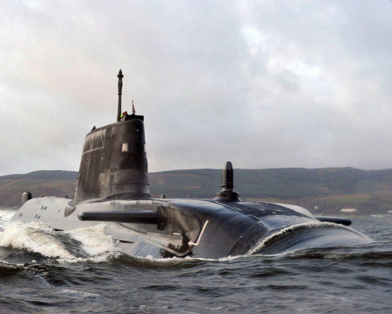 Атомные многоцелевые субмарины типа «Эстьют»