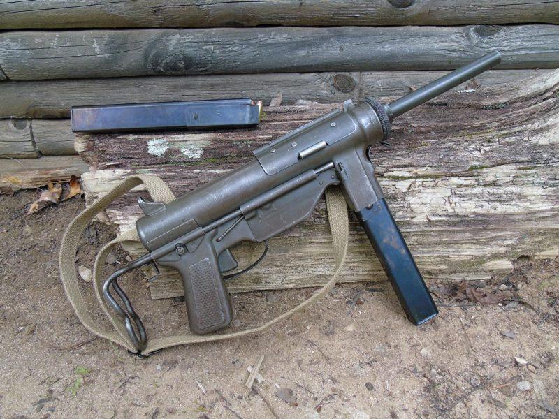 Пистолет-пулемет М3 - боевой «шприц»