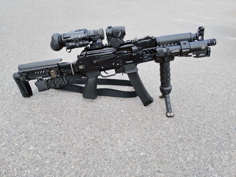 Пистолет-пулемет «Витязь» и «Витязь-CH»
