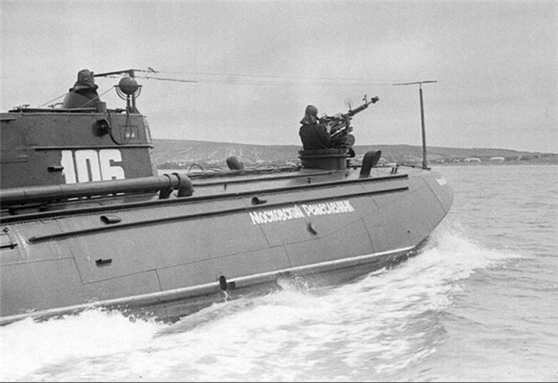 Советские торпедные катера в Великой Отечественной войне