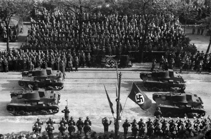 Гитлеровский блицкриг против Польши