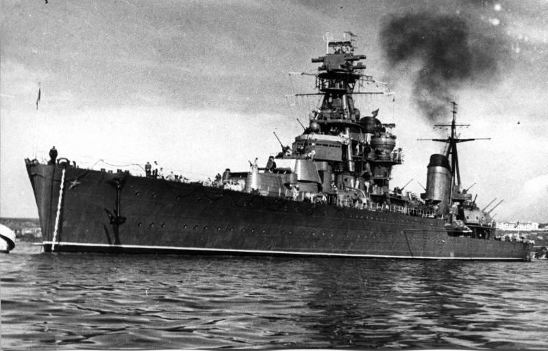 Крейсера проектов 26 и 26бис - первые советские