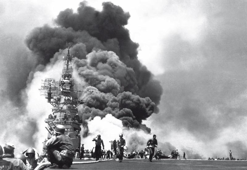 Битва в Филиппинском море - гибель у Марианских островов