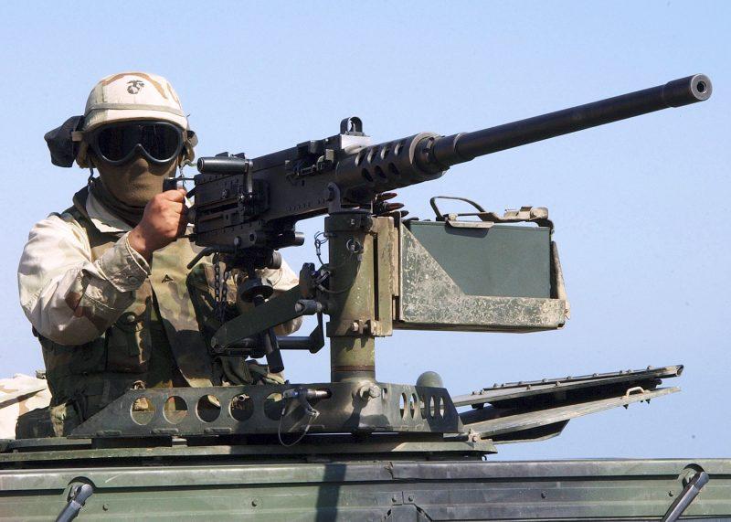 12,7-мм зенитные установки «Браунинг»