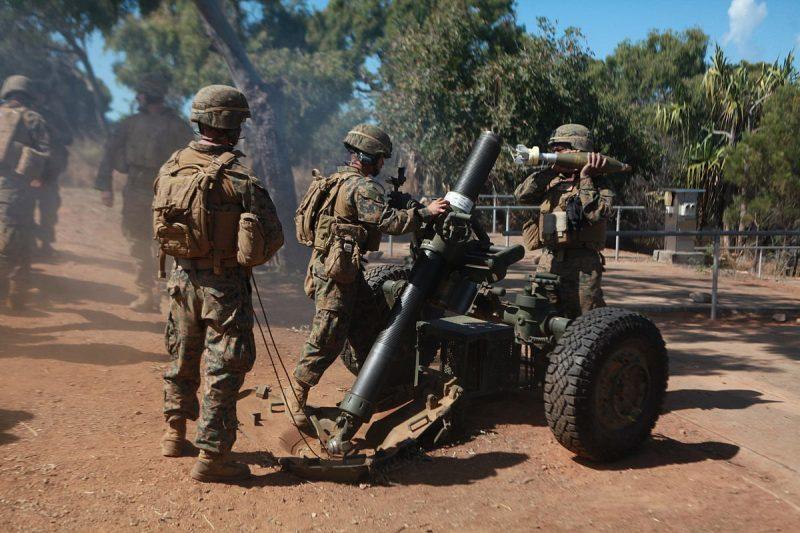 120-мм миномет МО-120-RT-61 (F.1) - нарезной, буксируемый, дальнобойный