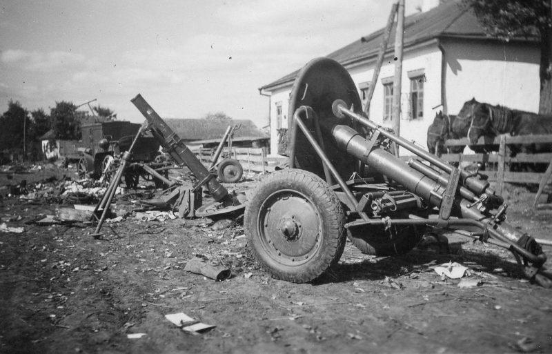 120-мм и 50-мм минометы 1938 года
