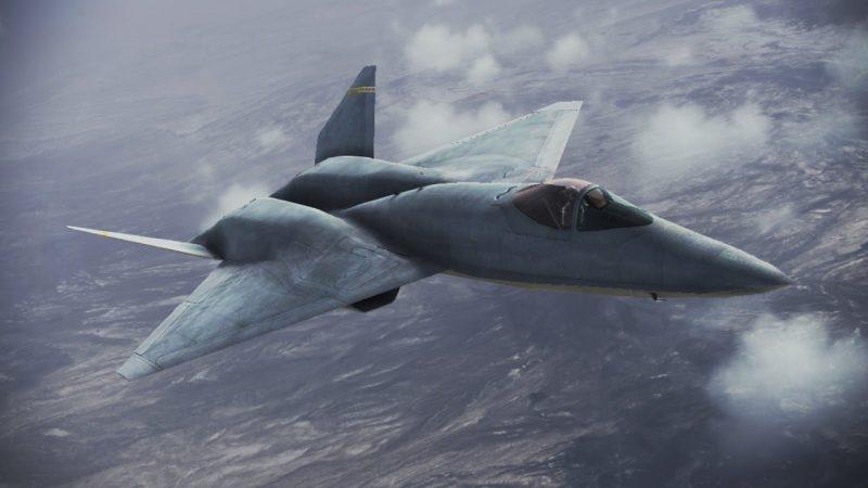 Истребитель «Нортроп» YF-23 - неудачливый конкурент «Рэптора»