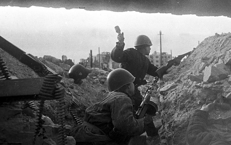 Операция «Уран». Оборона Сталинграда