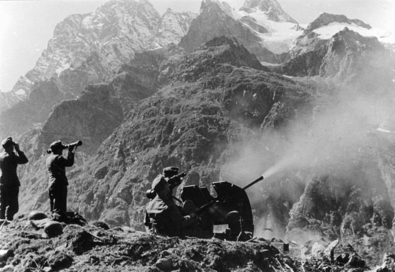 Гитлеровское наступление на Волгу и Кавказ