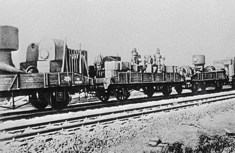 Эвакуация советской промышленности во время Великой Отечественной войны