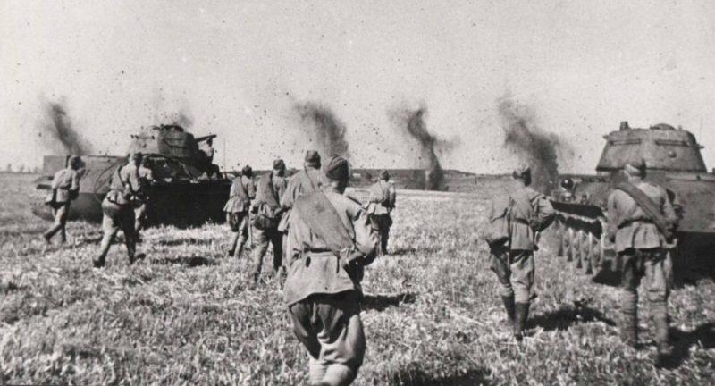 Контрнаступление Красной Армии на Орел и Белгород