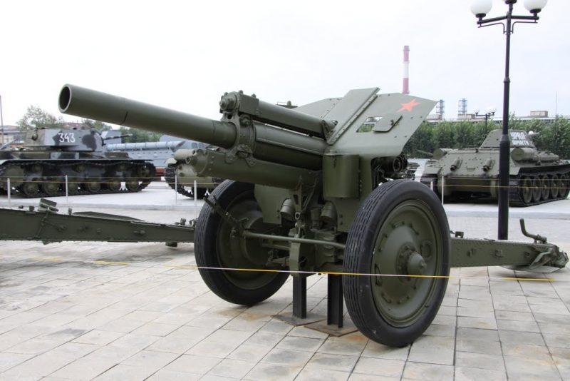 122-мм гаубица М-30 - легенда дивизионной артиллерии