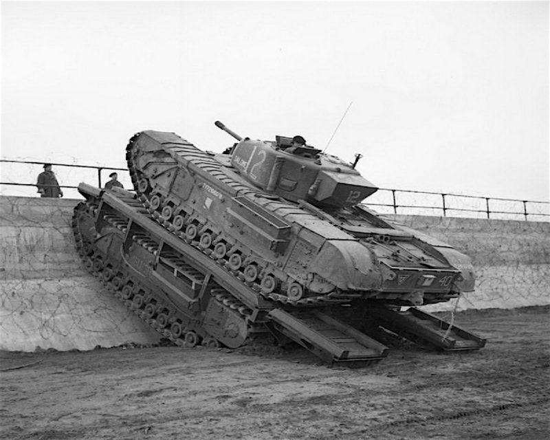 Военная техника на базе танка «Черчилль»