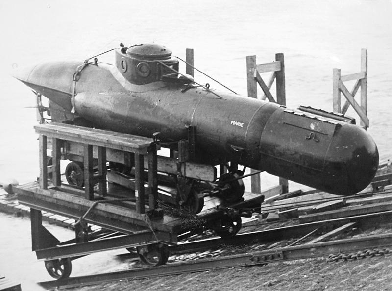 Сверхмалая подводная лодка «Велман»