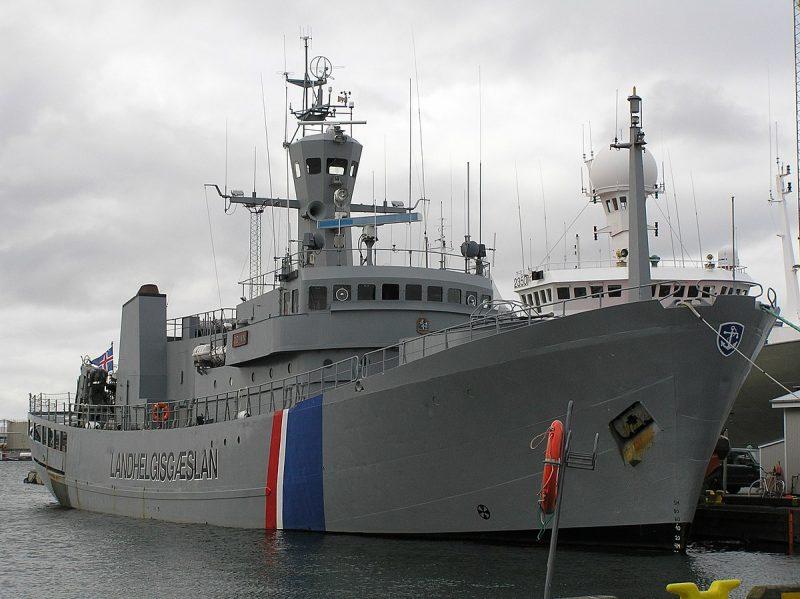 Береговая охрана Исландии - крупнейшее военное формирование