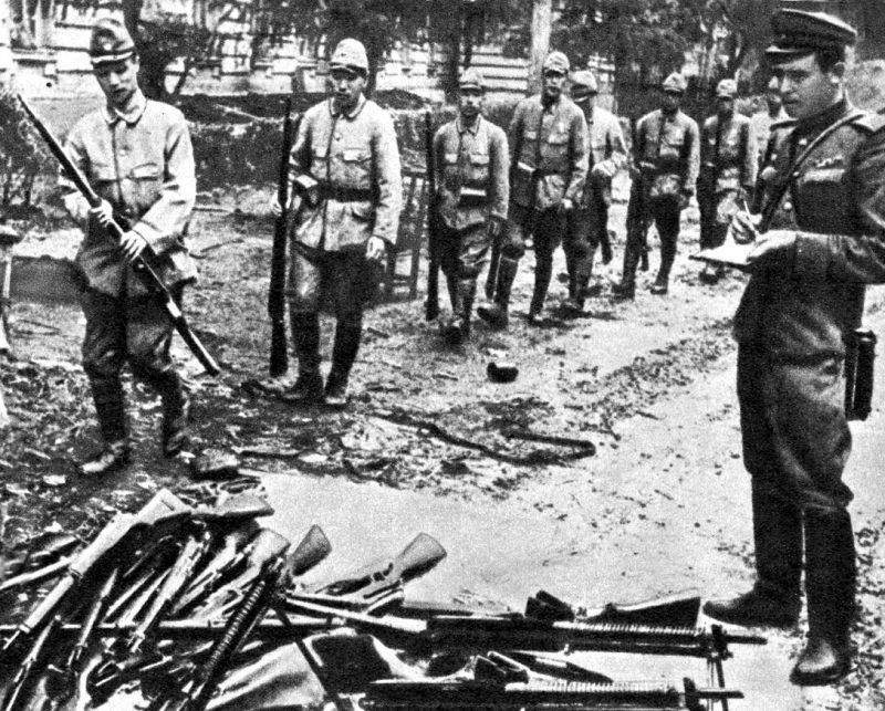 Разгром Квантунской армии Японии