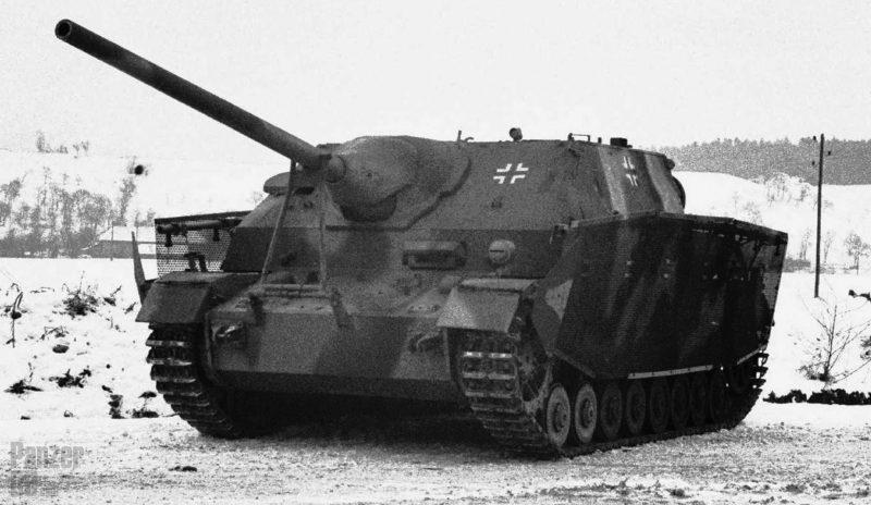 Истребительно-противотанковая САУ «Ягдпанцер» IV/70