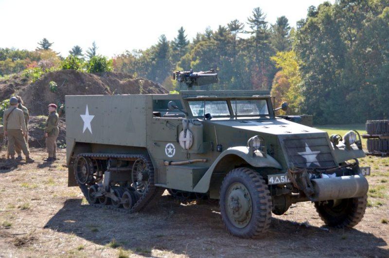 Полугусеничный бронетранспортер М3 - рабочая лошадка Второй мировой войны